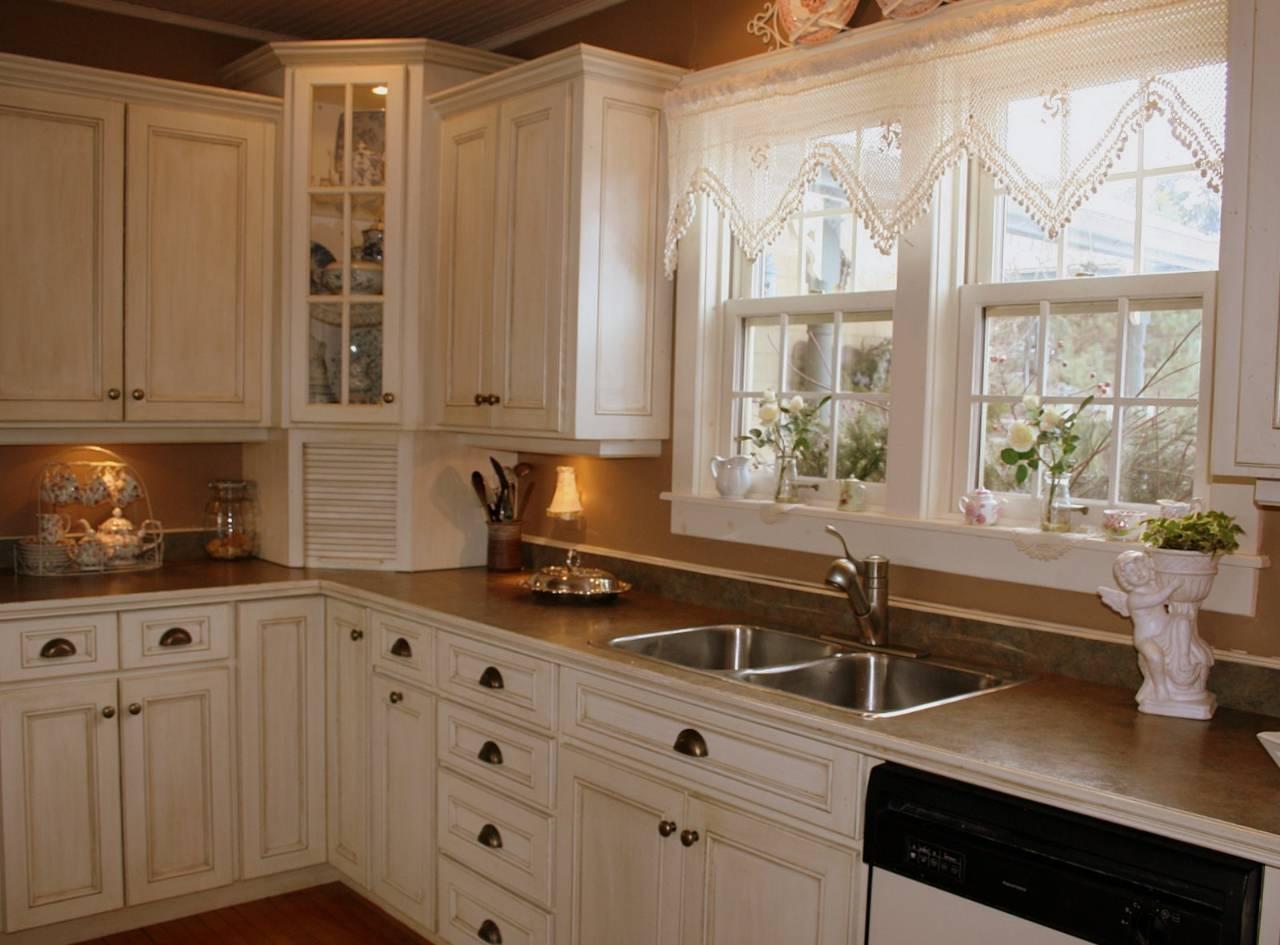 Kitchen corner glass display cabinet