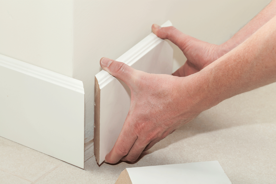 Window Casings and Baseboards