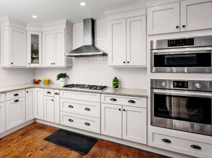 Kitchen Corner Cabinet with glass goor