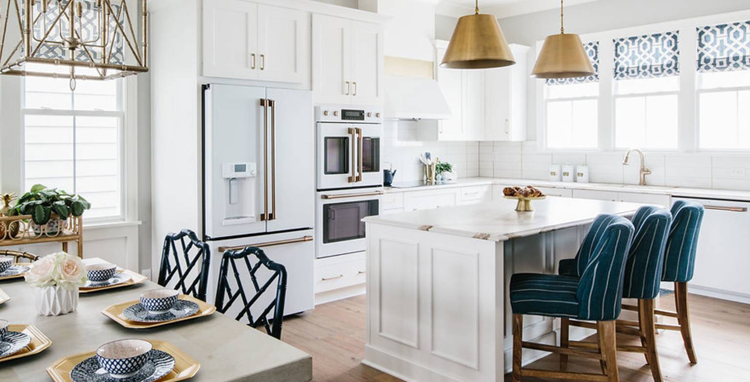 Less Versatile-colored Appliances in Kitchens