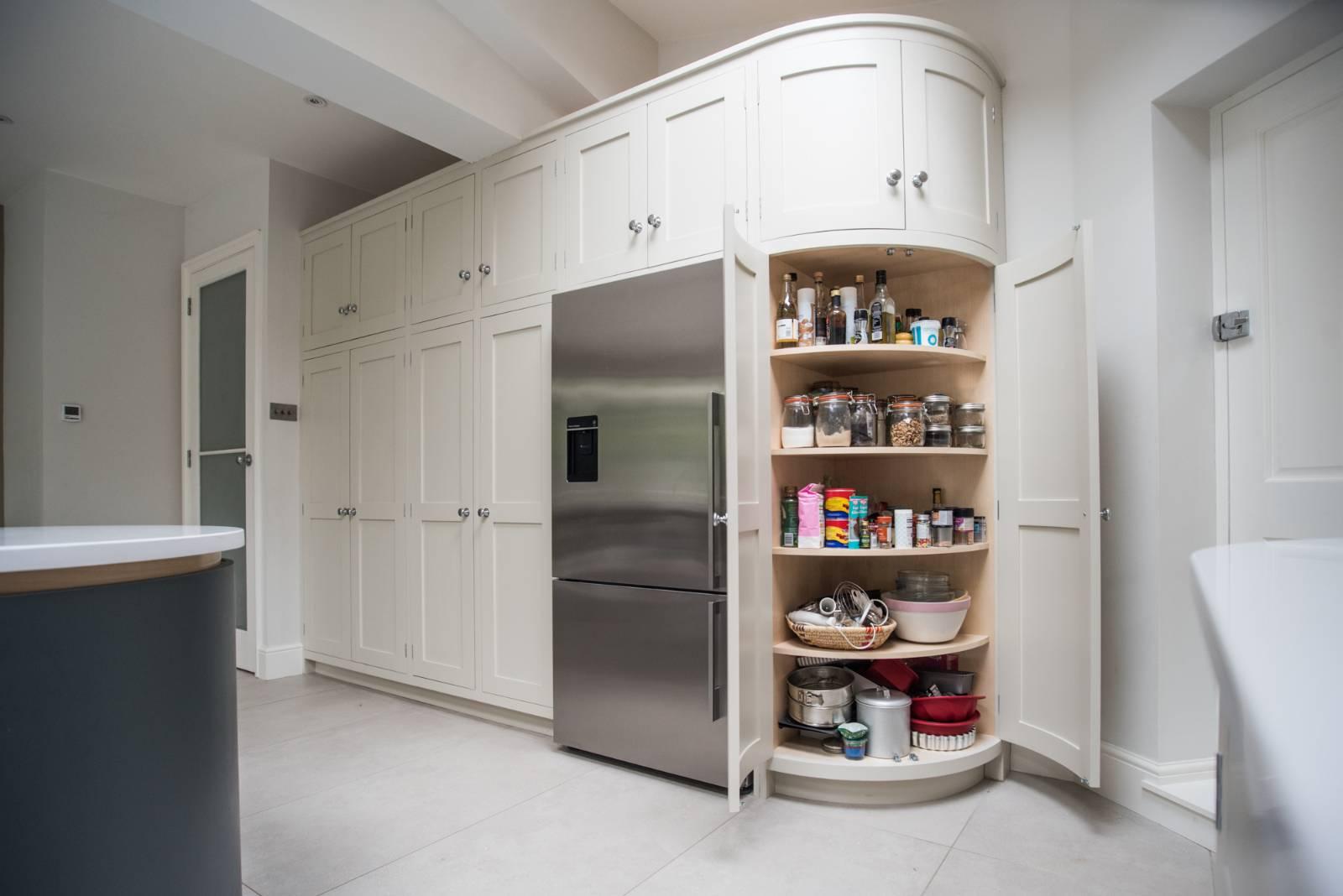 Rounded Kitchen Corner Solution