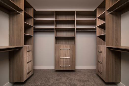 Textured melamine lockers