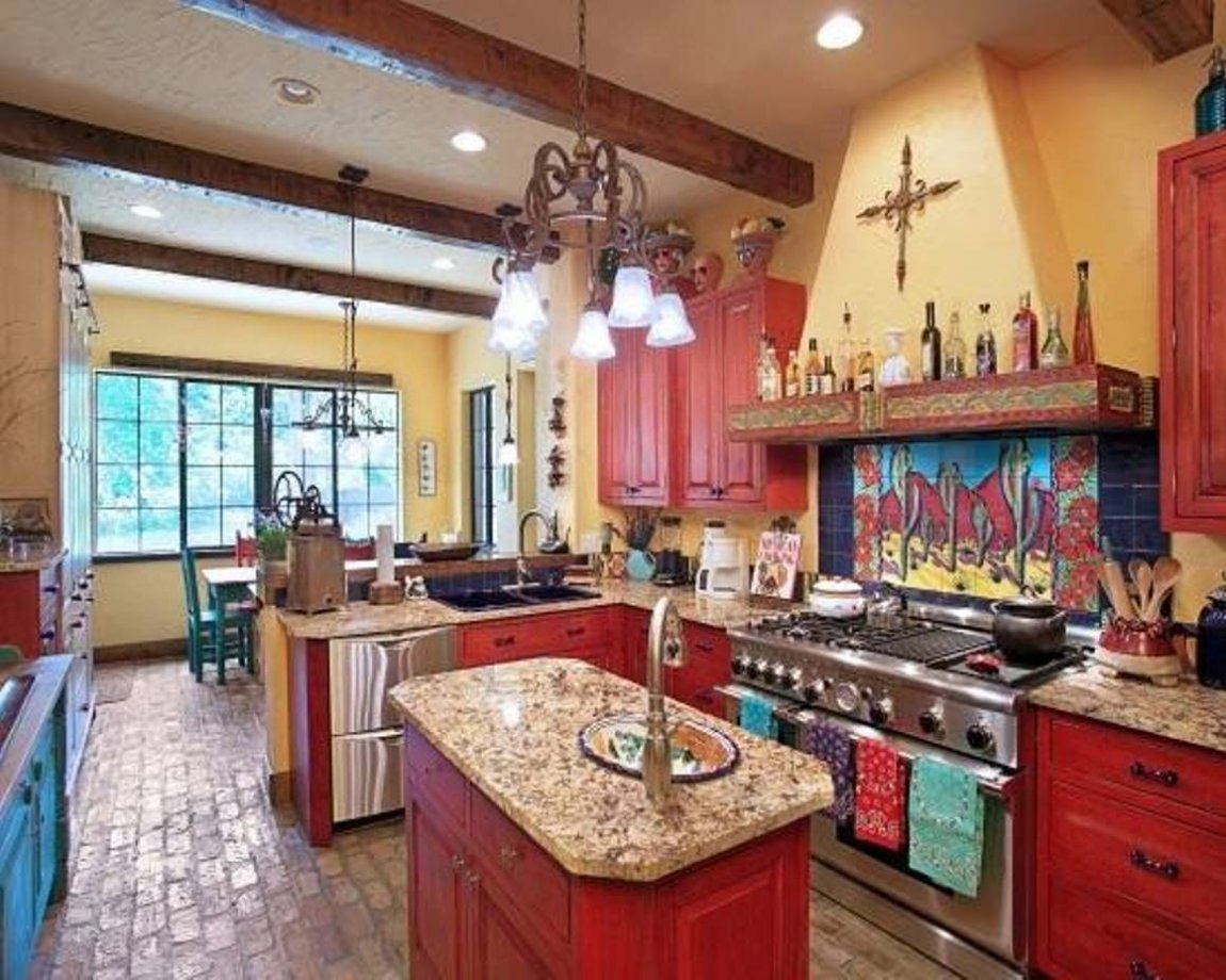 Traditional Mexican Kitchen Design