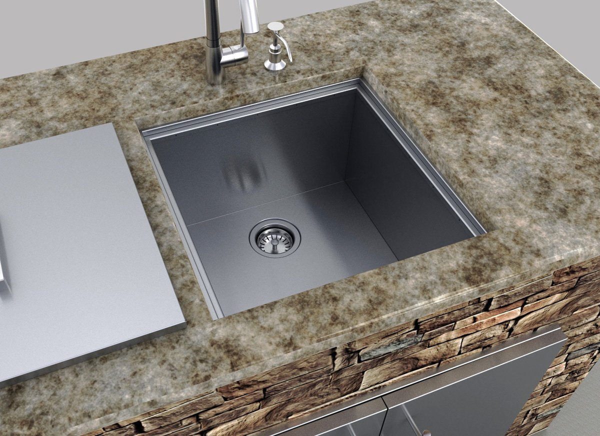 Covered Up Sink
