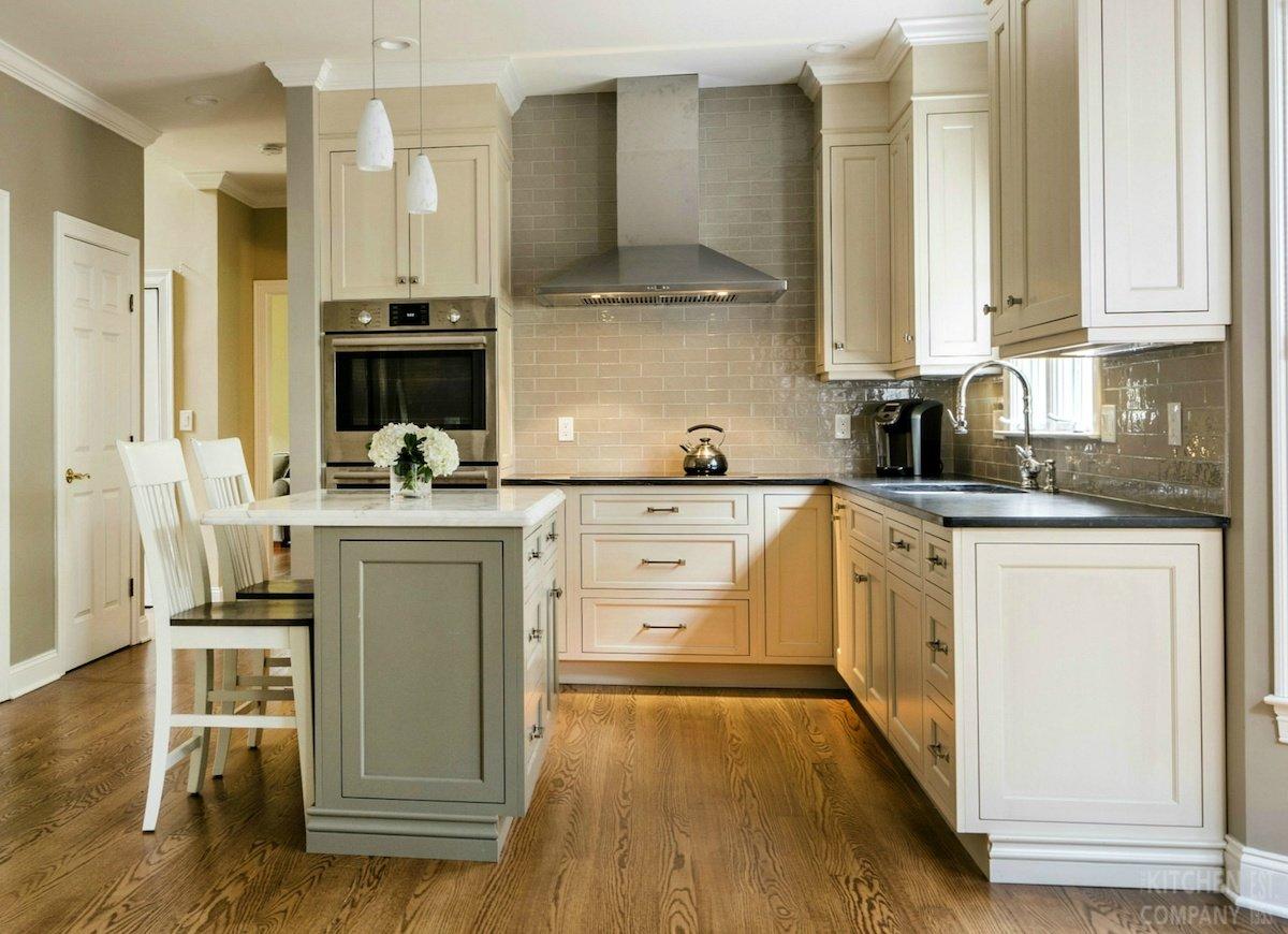 compact kitchen island
