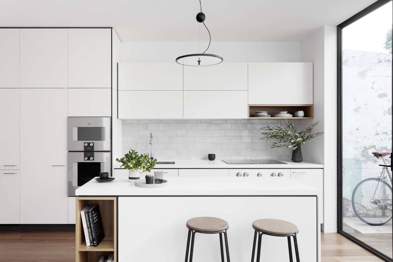 compact mini kitchen