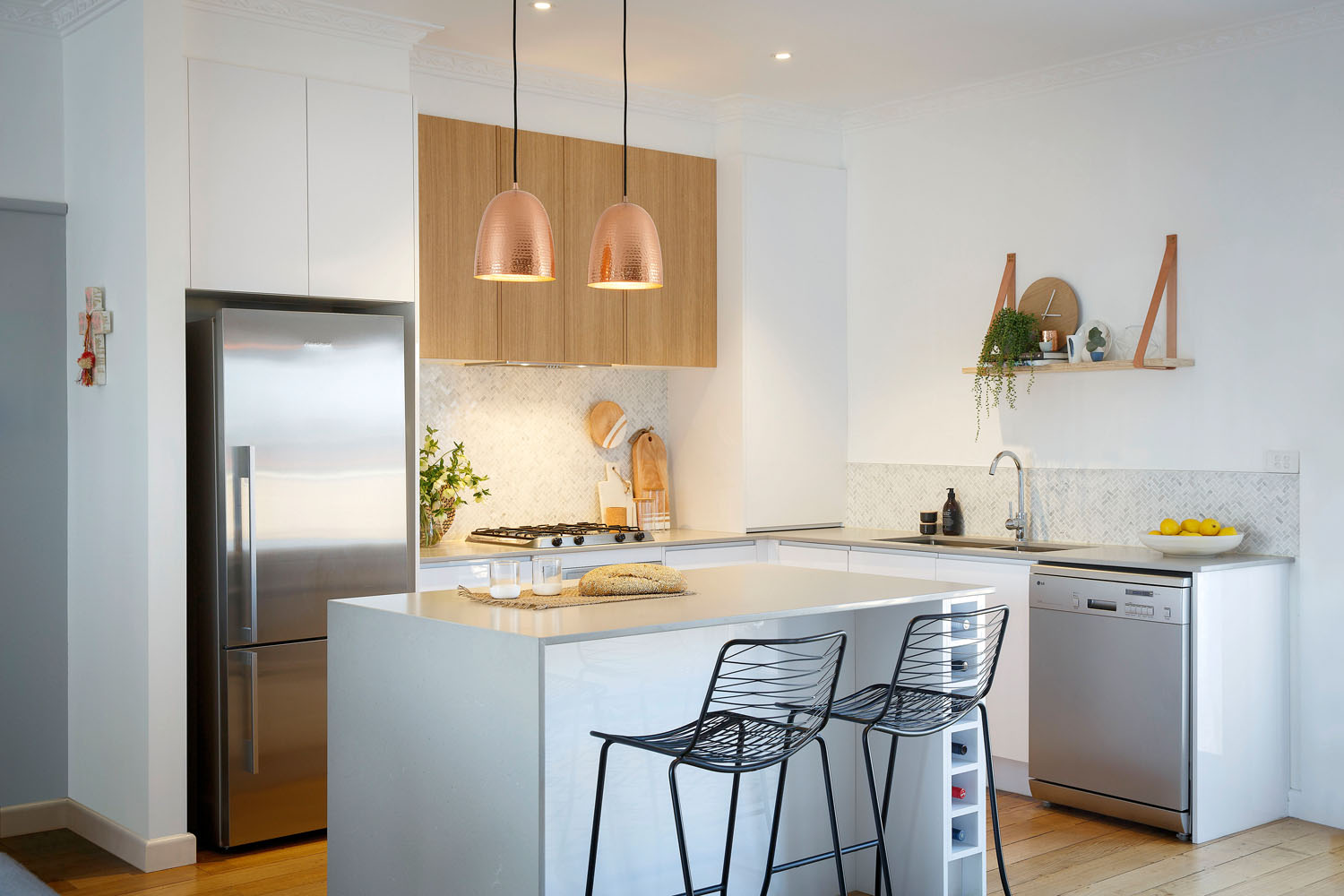 complete compact kitchen