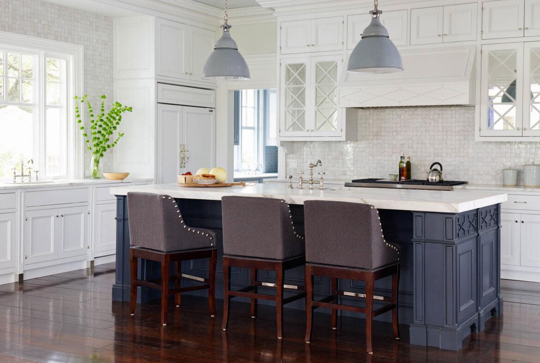hale navy kitchen cabinets