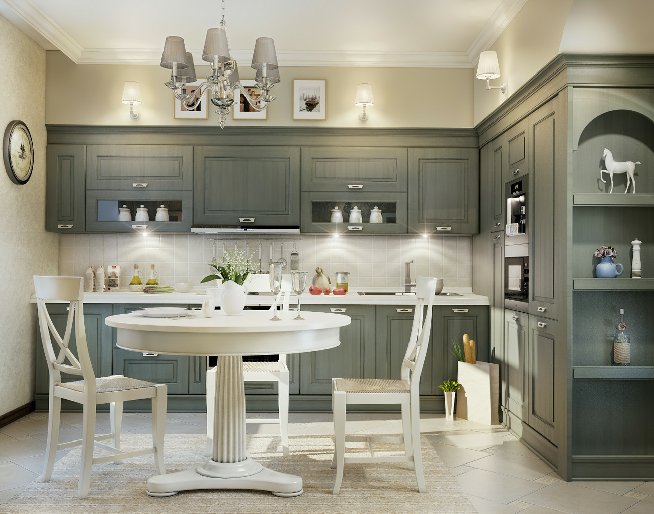 Traditional kitchen design ideas ▷ The best ☆ kitchens of the world