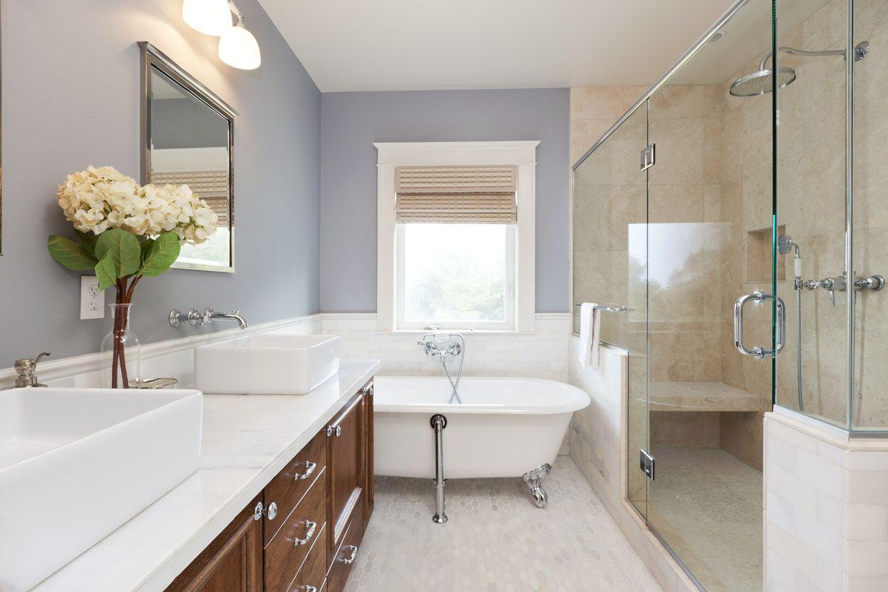 remodel a bathroom on a budget