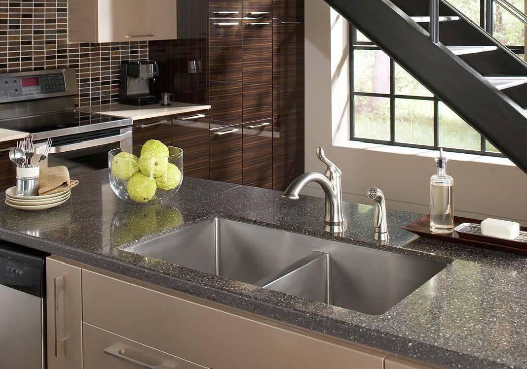 types of kitchen sinks