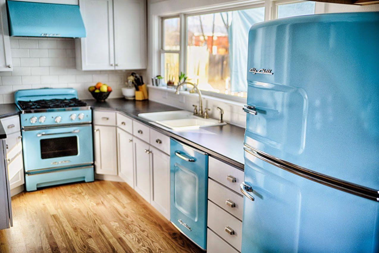 vintage kitchen appliances